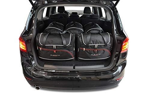 KJUST Dedizierte Reisetaschen 5 STK kompatibel mit BMW 2 Gran Tourer F46 2015 -