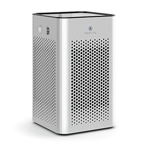 Medify MA-25 Air Purifier with H13 True HEPA Filter | 500 sq ft Coverage | for Smoke, Smokers, Dust,...