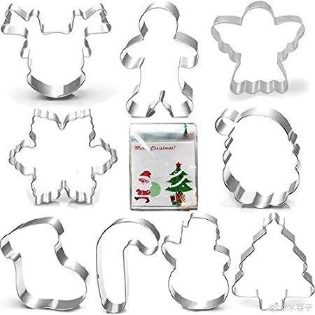 plater 3 Cookie cutter #392 Christmas snowmen