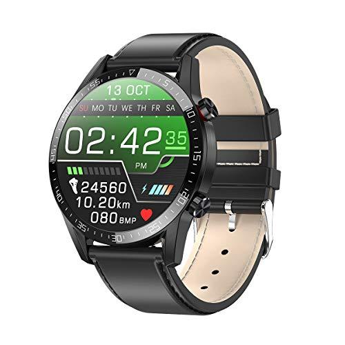 Gesh Smochm L13 - Reloj inteligente para mujer, compatible con marcador, ECG, PPG, medición de frecuencia cardíaca, impermeable, IP68