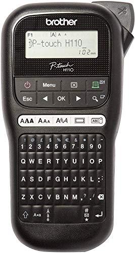 Brother PT-H110 Etichettatrice Palmare per Casa e Ufficio, fino a 12 mm