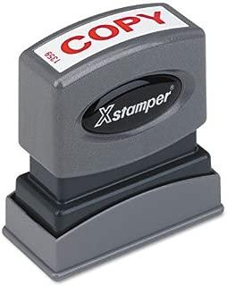 Xstamper One-Color Title Message Stamp,