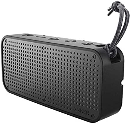 Anker SoundCore Sport XL Outdoor Portable Bluetooth Speaker - 16W Output and 2 Subwoofers, IP67 Waterproof Weatherproof Shockproof, 66ft Bluetooth Range, 15H Playtime, Built-in Mic, USB Charging Port