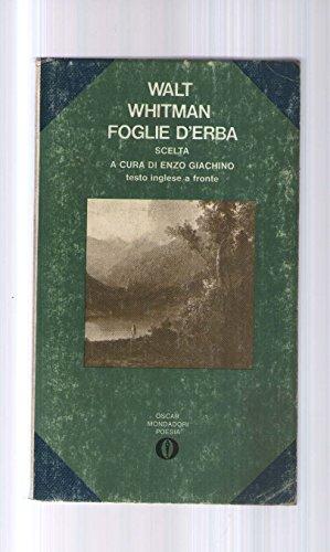 FOGLIE D'ERBA - Poesie scelte e tradotte da Enzo Giachino