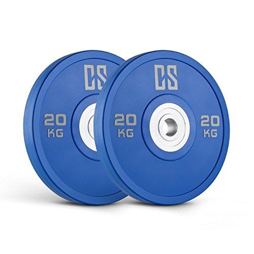 Capital Sports Performan Urethane Plates Coppia Pesi Dischi 15kg Gialli