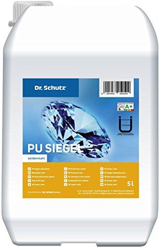 Bodenbeschichtung Dr. Schutz PU Siegel extra-matt 5,5 L inklusive Vernetzer nach DIN 18032 für Sportböden