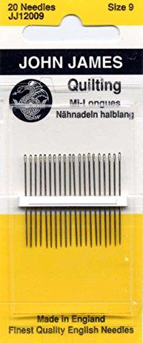 COLONIAL NEEDLE(コロニアルニードル)John James(ジョンジェームズ)『Between Quilting Needles(ビトウィーンキルティングニードルズ)(JJ12009)』