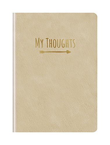 Studio Oh! Medium Leatheresque Journal, My Thoughts Just Like Gold