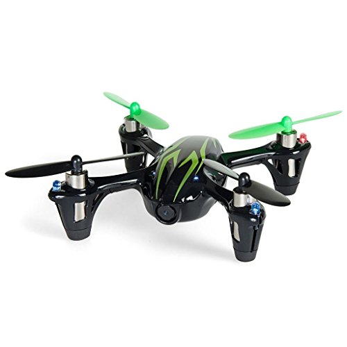 HUBSAN X4 H107C 2.4G 4CH RC Quadcopter with HD 2 MP Cámara RTF Negro-Verde