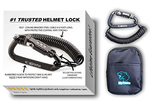 Motorcycle Helmet Combination Lock