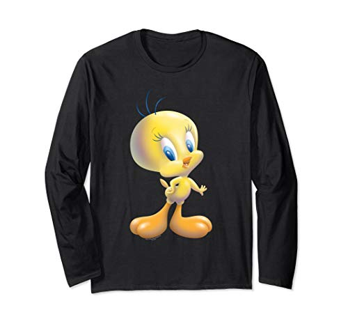 Looney Tunes Tweety Bird Airbrushed Long Sleeve T-Shirt