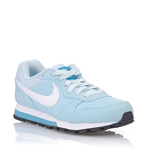 Nike Damen WMNS MD Runner 2 Sneaker, Blau (Glacier Blue/Chlorine Blue/White), 36.5 EU
