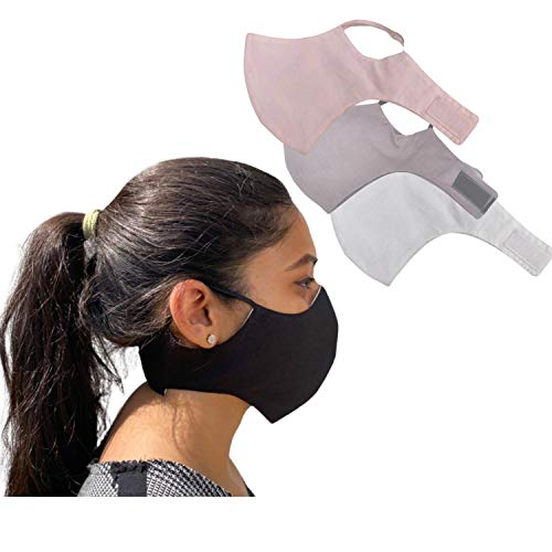Shaila's Couture Sports Gym Workout Face Masks (PACK OF 3)...