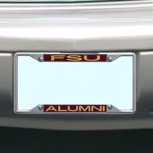 NCAA Kennzeichenrahmen Florida State Calendoles Alumni