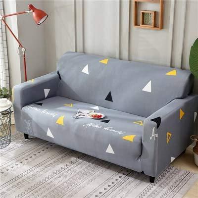 ASCV Schonbezüge Sofa Tight Wrap All-Inclusive Rutschfestes, schnittiges, elastisches, volles Sofabezugsofa A6 4-Sitzer