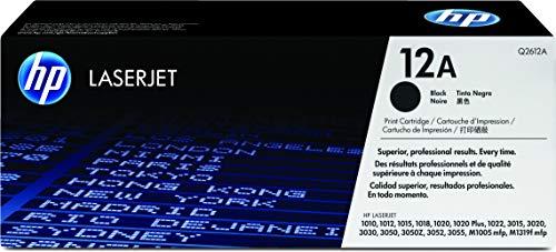 HP 12A (Q2612A) Schwarz Original Toner für HP Laserjet 1010, 1020, 1022, 3015, 3050, 3055