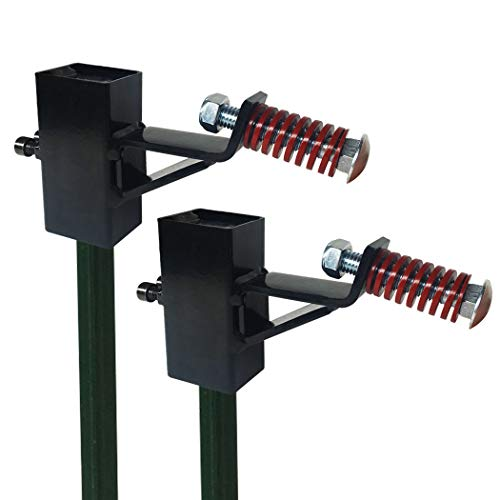 Highwild TPost Target Hanger Target Mount Bracket  for AR500 Steel Targets  2 Pack
