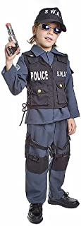Deluxe Childrens S.W.A.T. Police Officer Costume Set