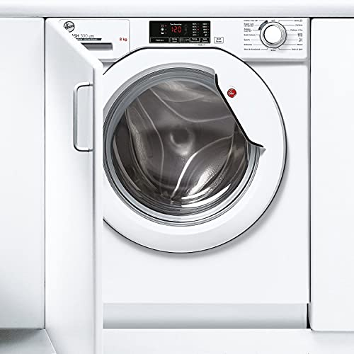 Hoover HBWS 48D1E-80 8 Kg 1400 Rpm Integrated Washing Machine White