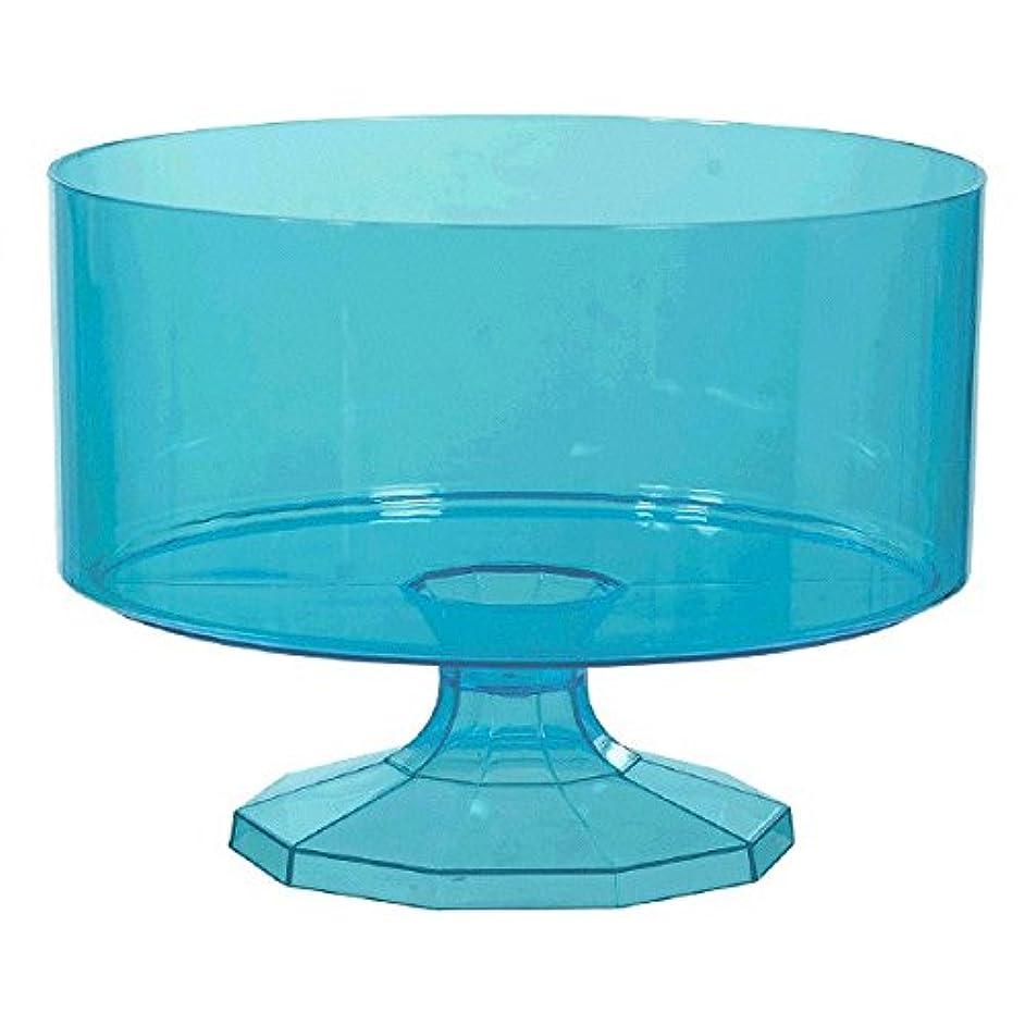 Caribbean Blue Trifle Container, Medium, Party Favor