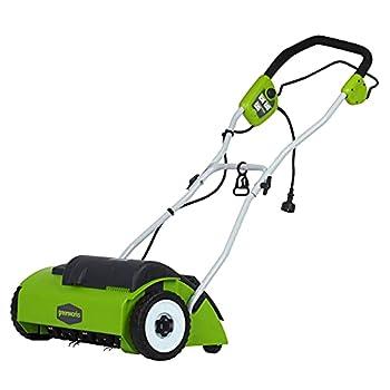 Greenworks 10A Corded 14-Inch Dethatcher