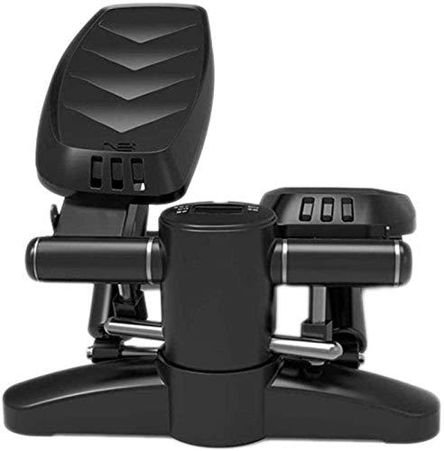 Entrenador de bicicletas Fitness Ejercicio Elíptico Twister Stepper Actualizado Calidad de acero Fácil bajo escritorio Entrenamiento Digital Muestra Resistencia Banda de resistencia Elíptica Entrenado