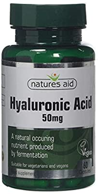 Natures Aid 50mg Hyaluronic Acid - Pack of 60 Capsules from Natures Aid