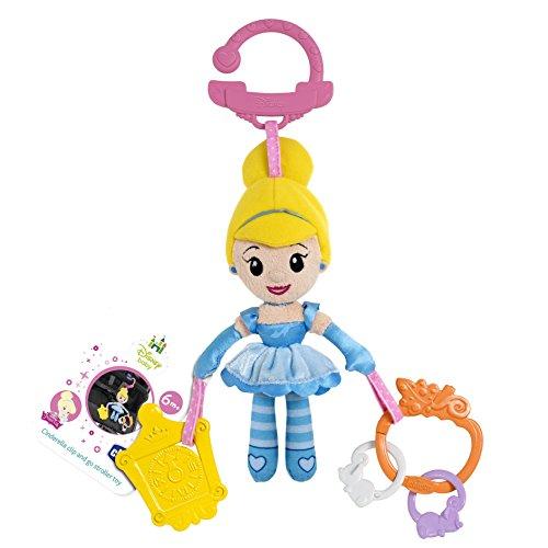 Chicco Disney Princess Cendrillon Poussette, Landau et poussette Clip poupée jouet - version anglaise