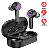 Wireless Earbuds, Mpow M9 Bluetooth Earbuds w/ 200 Hours Standby and HD Bass