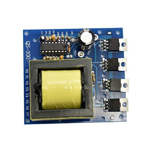 FHJZXDGHNXFGH Inversor Verde Convertidor DC-AC actualizado 12V a 220V 380V 18V AC 500W Inversor Tablero Transformador de Potencia