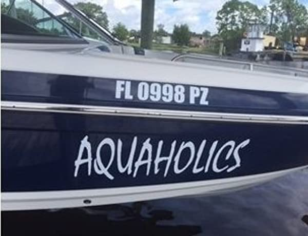 Boat 2 Special Customization S Boat Or Auto Decal Ex LRG