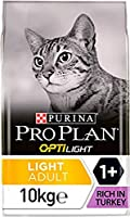Complete and balanced light Adult dry food for cats 1+ to help overweight cats and cats with a tendency to put on weight Contains OPTILight for healthy weight loss, a recipe with 40% less fat and all essential nutrients and increased fibre to help we...