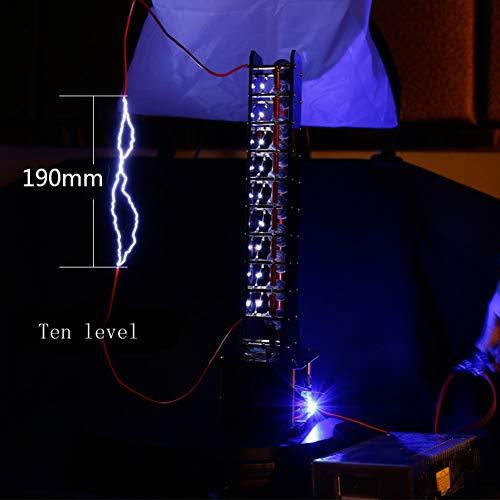 MaxLab Marx Generator Tesla Arc Puls Generator Blitz DIY Kit für ZVS Flyback Fahrer Board/zündspule,10