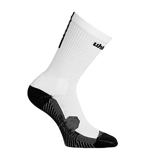 uhlsport Herren Tube It Socken, weiß/Schwarz, 41-44