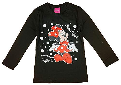 Minnie Mouse Disney Mädchen Pulli Langarmshirt in Größe 80 86 92 98 104 110 116...