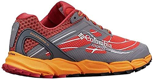 Columbia Caldorado III, Zapatillas de Running para Asfalto Mujer, Naranja (Zing, Koi 864), 43 EU