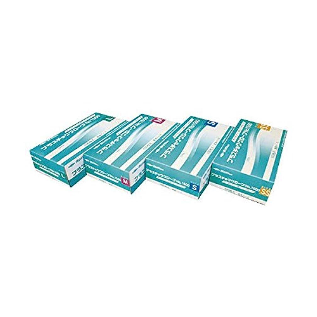枯れる対抗気になる共和 プラスチックグローブNo1500 L ds-1915784