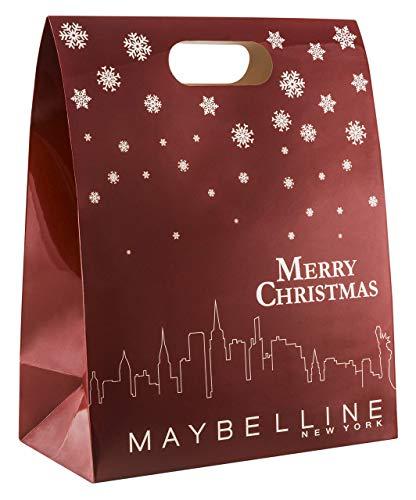 Maybelline New York Calendario dell'Avvento Do-It-Yourself, con 24 prodotti bellezza, sacchetti e adesivi da riempire e fai da te