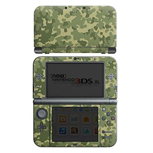 DeinDesign Skin kompatibel mit Nintendo New 3DS XL Folie Sticker Bundeswehr Muster Camouflage