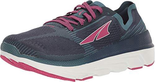 ALTRA Women's ALW1938F Duo 1.5 Road Running Shoe, Navy/Pink - 8.5 M US
