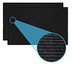 LuxUrux Durable Rubber Door Mat