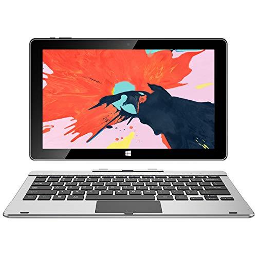 jumper EZpad 6s Pro,Tablet de 11.6 Pulgadas(2in1 Tablet,Windows 10 ultradelgado portátil Desmontable Intel,Apollo Atom E3950, Quad-Core 6G+128GB SSD, 1920X1080 Full HD IPS) Tableta Plata Sin Teclado