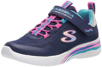 Skechers girls Skechers Sport Skechers Light Weight Skechers Sneaker Navy/Multi 13 Little Kid US
