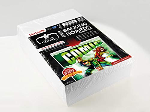 Ultimate Guard UGD020005 Comic Backing Boards, Weiß