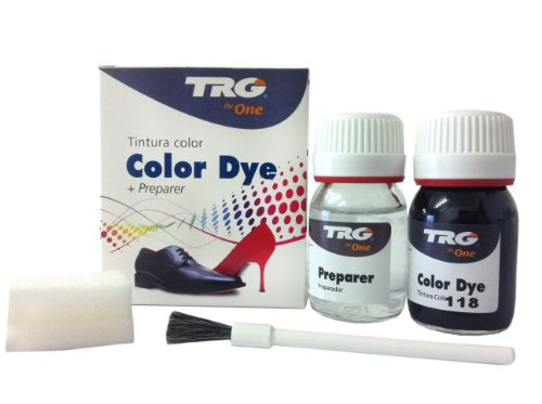 TRG the One Self Shine Leather Dye Kit #118 Black - BEST SELLER SALE!