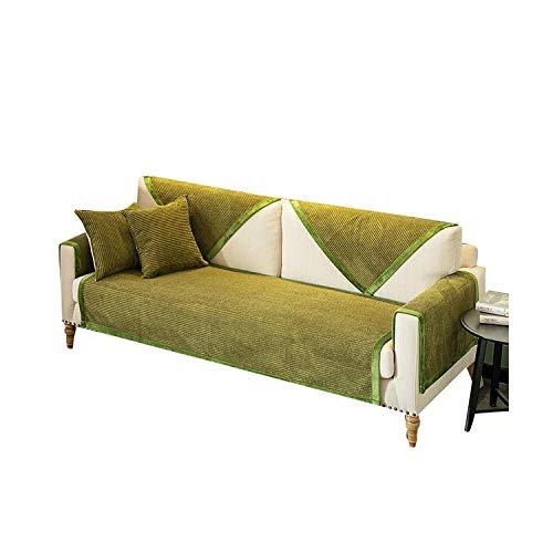 Alle seizoenen dikker pluche stof bank cover slip resistente Slipcover stoel Europese bank cover bank handdoek voor woonkamer Decor
