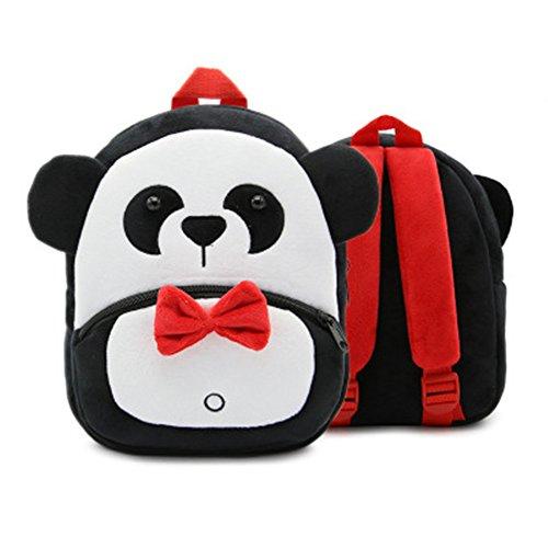Cute Animal Plush Kids Children Toddler Backpack Bag Shcoolbag for Boys Girls (Panda)