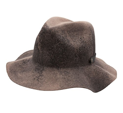 Bailey of Hollywood - Chapeau Fedora Feutre Homme Ashmore - Taille L - Marron-Noir