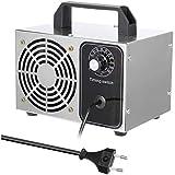 AN Generador de ozono Comercial Profesional,Purificador de Aire de ozono móvil Ozone Machine para Hogar, Oficina, Humo,Automóviles y Mascotas