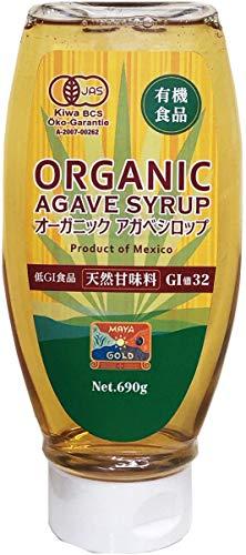 マヤ・ゴールド オーガニック アガベシロップ 690g 【有機JAS】 ×690g